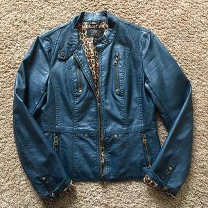 TCEC faux leather jacket